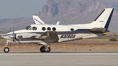 N3190S - Beechcraft C90A King Air - Private
