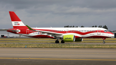 YL-CSL - Airbus A220-300 - Air Baltic