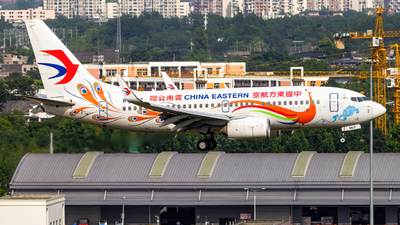 A picture of B5817 - Boeing 73779P - China Eastern Airlines - © SINO6702