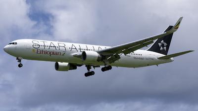 ET-ALO - Boeing 767-360(ER) - Ethiopian Airlines
