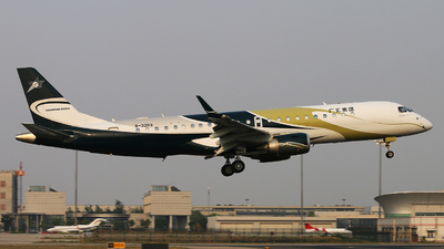 B-3203 - Embraer 190 Lineage 1000 - Private