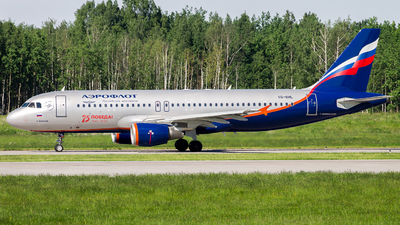 A picture of VQBHL - Airbus A320214 - Aeroflot - © Yegor8016