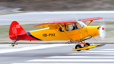 HB-PHX - Piper PA-18 Super Cub - Private