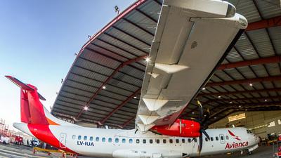 LV-IUA - ATR 72-212A(600) - Avianca Argentina