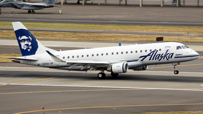N174SY - Embraer 170-200LR - Alaska Airlines (Skywest Airlines)