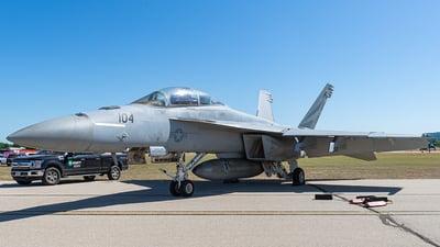 166795 - Boeing F/A-18F Super Hornet - United States - US Navy (USN)
