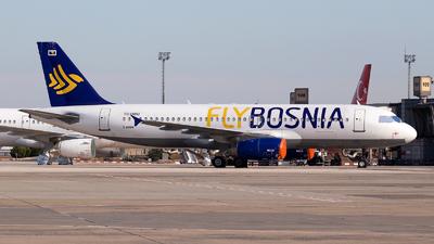 TC-OBU - Airbus A320-232 - FlyBosnia