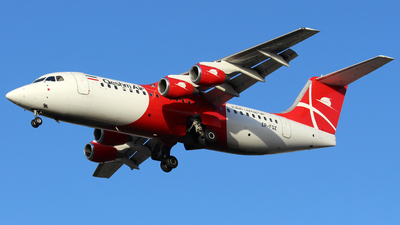 EP-FQZ - British Aerospace Avro RJ100 - Qeshm Air