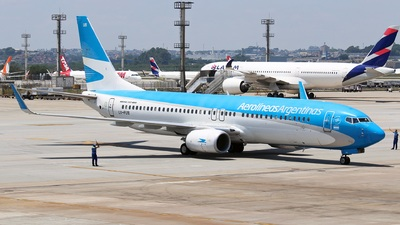 A picture of LVFUB - Boeing 7378HX - Aerolineas Argentinas - © RENAN FRANCISCO