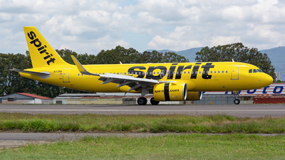 A picture of N921NK - Airbus A320271N - Spirit Airlines - © OSCAR GUILLEN