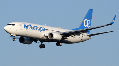 A picture of ECMQP - Boeing 73785P - Air Europa - © Paul Stam
