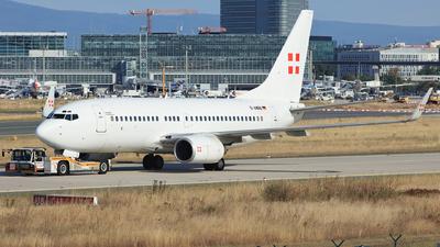 D-AWBB - Boeing 737-7CN(BBJ) - PrivatAir Germany