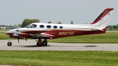 A picture of N8671K - Cessna 340A - [340A0611] - © DJ Reed - OPShots Photo Team