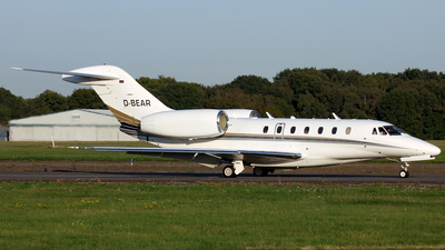 A picture of DBEAR - Cessna 750 Citation X -  - © Terry Wade