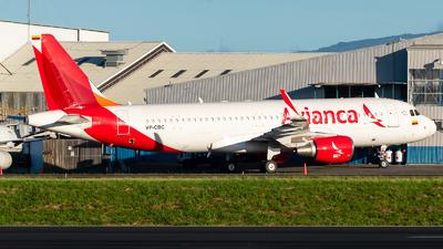 VP-CBC - Airbus A320-214 - Avianca