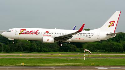 PK-LZS - Boeing 737-8GP - Batik Air