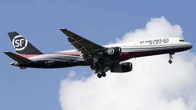 A picture of B2829 - Boeing 75725C(PCF) - SF Airlines - © Lixing Moo