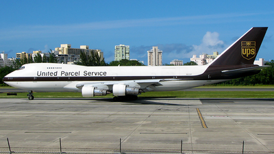 N522UP - Boeing 747-212B(SF) - United Parcel Service (UPS)