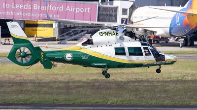 G-NHAE - Eurocopter AS 365N3 Dauphin 2 - Multiflight