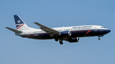 G-DOCJ - Boeing 737-436 - British Airways