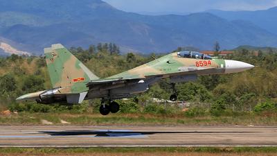 8594 - Sukhoi Su-30MK2 - Vietnam - Air Force