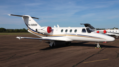 PH-WMM - Cessna 525 Citationjet CJ1 - JetNetherlands