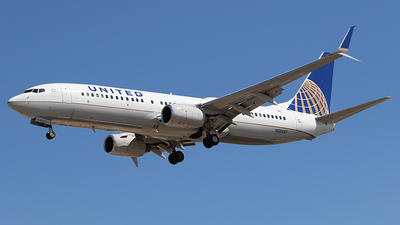 N38257 - Boeing 737-824 - United Airlines