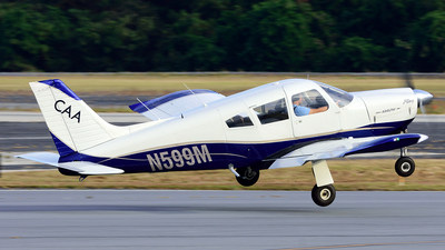 A picture of N599M - Piper PA28R180 - [28R7130013] - © Agustin Anaya