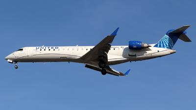 A picture of N502GJ - Mitsubishi CRJ550 - United Airlines - © Andriy Yegorov
