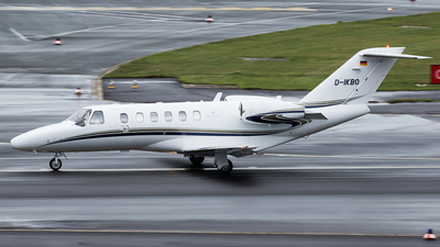 D-IKBO - Cessna 525A CitationJet 2 Plus - Silver Cloud Air