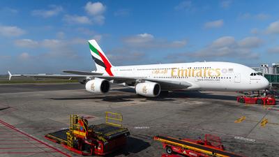 A6-EDF - Airbus A380-861 - Emirates