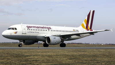 D-AKNM - Airbus A319-112 - Germanwings