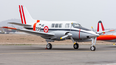 FAP729 - Beechcraft 65-A80 Queen Air - Perú - Air Force