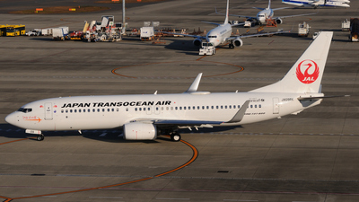 JA09RK - Boeing 737-8Q3 - Japan TransOcean Air (JTA)