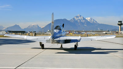 OE-ADM - Beechcraft T-34A Mentor - The Flying Bulls