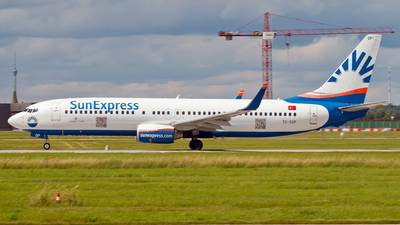 A picture of TCSOP - Boeing 7378AS - SunExpress - © Patrick Weis