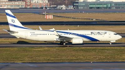 A picture of 4XEHH - Boeing 737958(ER) - El Al - © Marcel Knetsch