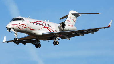 D-BANN - Bombardier BD-100-1A10 Challenger 300 - Private
