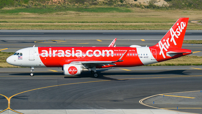A picture of 9MAGZ - Airbus A320216 - AirAsia - © Huang Chengjen