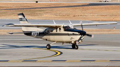 A picture of N113TT - Cessna P210N Pressurized Centurion - [P21000281] - © Oliver Richter