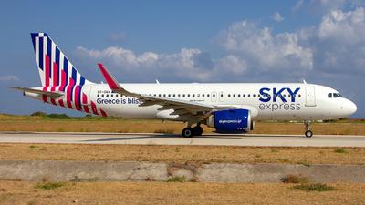 SX-GNA - Airbus A320-251N - Sky Express