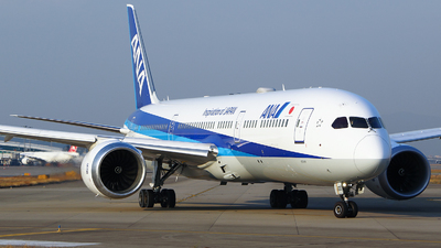 JA922A - Boeing 787-9 Dreamliner - All Nippon Airways (Air Japan)