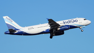 A picture of VTIDQ - Airbus A320232 - IndiGo - © toeychincha