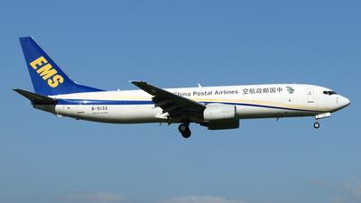 B-5132 - Boeing 737-8Q8(BCF) - China Postal Airlines