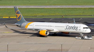 A picture of DABOH - Boeing 757330 - Condor - © Christian Schürmann