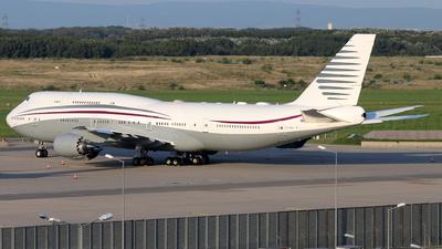 A7-HBJ - Boeing 747-8K8(BBJ) - Qatar - Amiri Flight