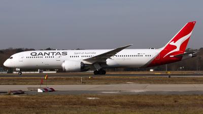A picture of VHZNF - Boeing 7879 Dreamliner - Qantas - © Marc Lehmann