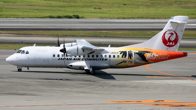 A picture of JA05JC - ATR 42600 - Japan Air Commuter - © Tokubee