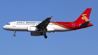 B-6833 - Airbus A320-232 - Shenzhen Airlines