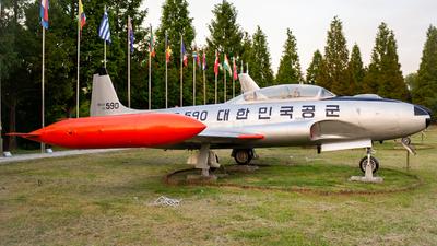 80590 - Lockheed T-33A Shooting Star - South Korea - Air Force